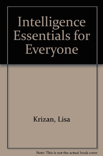 9780756700973: Intelligence Essentials for Everyone