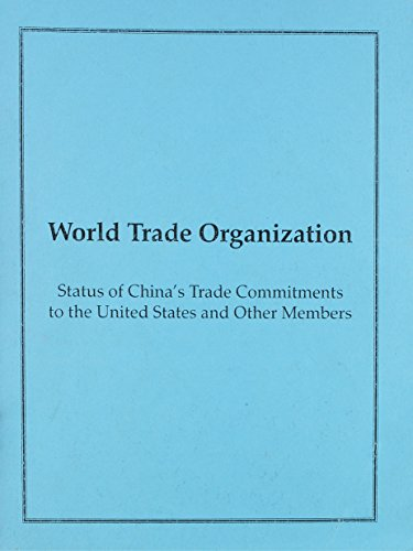 World Trade Organization Wto: Status of China's Trade Commitments to the U.S. and Other ...