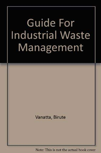 9780756705701: Guide For Industrial Waste Management
