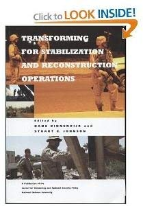 Transforming for Stabilization And Reconstruction Operations