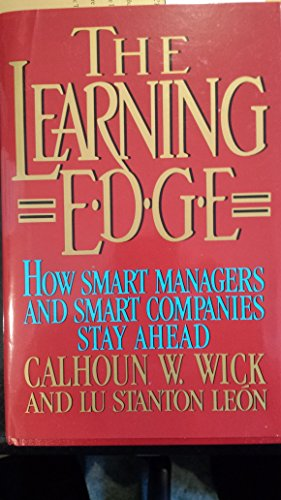 9780756750534: Learning Edge: How Smart Managers and Smart Companies Stay Ahead