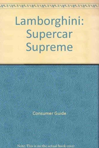 9780756752859: Lamborghini: Supercar Supreme