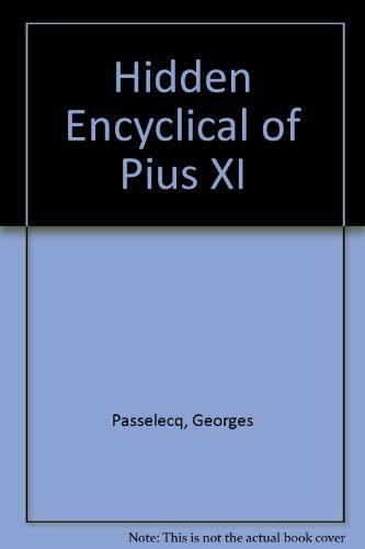 9780756760229: Hidden Encyclical of Pius XI