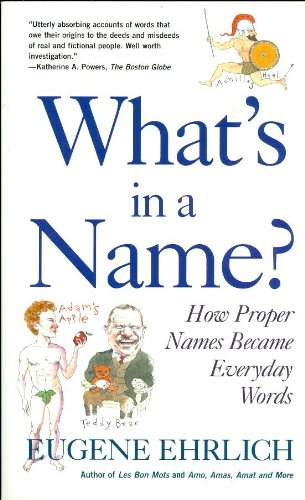 9780756764036: What's in a Name?: How Proper Names Became Everyday Words