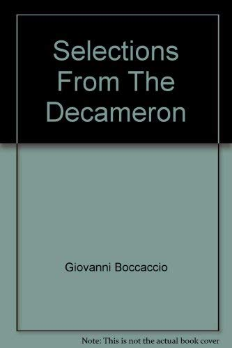 9780756766436: Selections From The Decameron