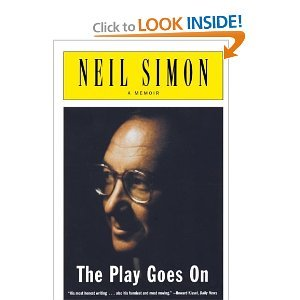 Play Goes On: A Memoir (0756774489) by Neil Simon