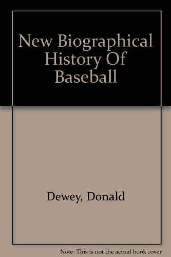 9780756775438: New Biographical History Of Baseball