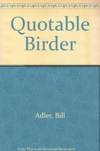 9780756778057: Quotable Birder