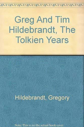 9780756779542: Greg And Tim Hildebrandt, The Tolkien Years