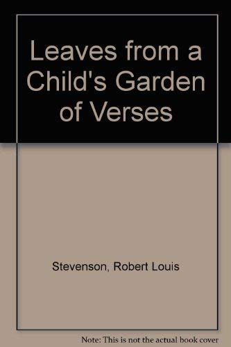 9780756782931: Leaves from a Child's Garden of Verses