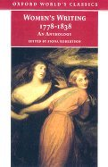 9780756783471: Women's Writing, 1778-1838: An Anthology