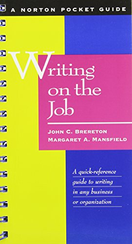 9780756785161: Writing on the Job: A Norton Pocket Guide