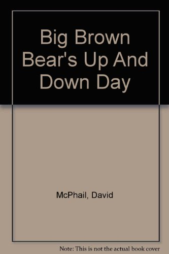 9780756785420: Big Brown Bear's Up And Down Day