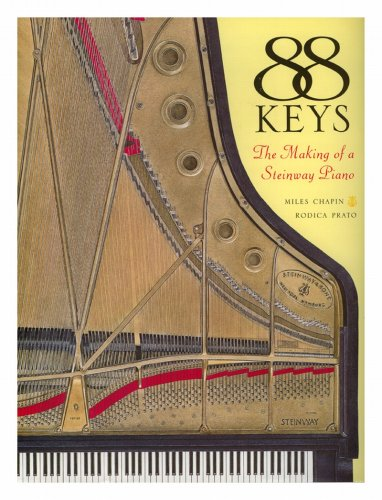 9780756787431: 88 Keys: The Making of a Steinway Piano