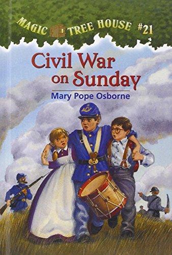 9780756901455: Civil War on Sunday (Magic Tree House #21)