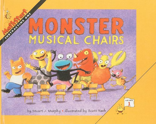 9780756901936: Monster Musical Chairs (Mathstart: Level 1 (Prebound))