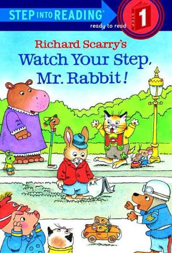 9780756902940: Watch Your Step, Mr. Rabbit! (Step Into Reading - Level 1)