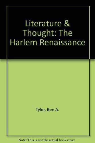 Literature & Thought: The Harlem Renaissance: Ben A. Tyler