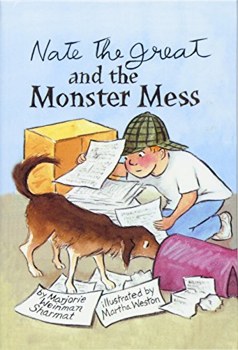 9780756906740: Nate the Great and the Monster Mess (Nate the Great Detective Stories)