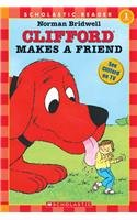 9780756908508: Clifford Makes a Friend (Hello Reader! Level 1)