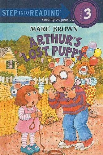 9780756909772: Arthur's Lost Puppy (Step Into Reading Sticker Books (Pb))