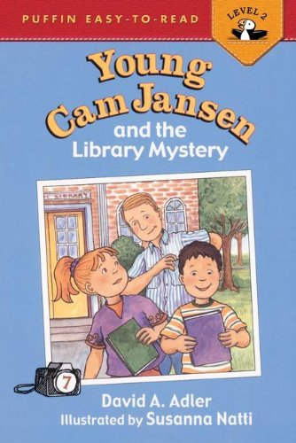 9780756912017: Young CAM Jansen and the Library Mystery (Easy-To-Read Young CAM Jansen - Level 2)
