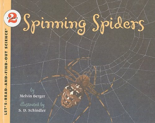9780756914493: Spinning Spiders (Let's-Read-And-Find-Out Science: Stage 2 (Pb))