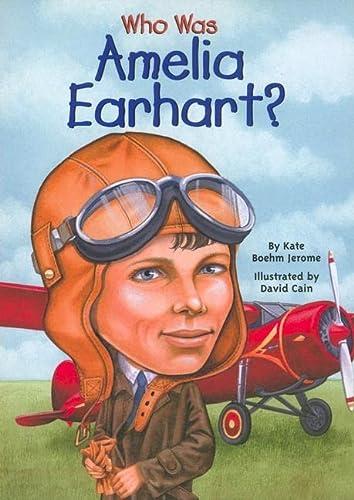 9780756915872: Who Was Amelia Earhart?