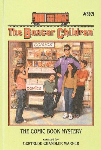 9780756916114: The Comic Book Mystery (Boxcar Children)