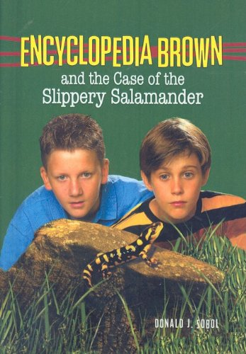 9780756916190: Encyclopedia Brown and the Case of the Slippery Salamander