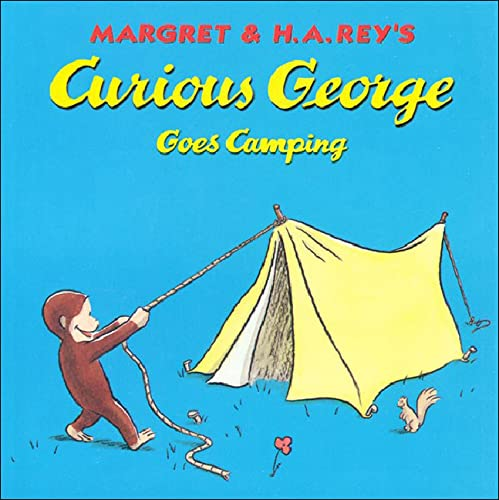 9780756917302: Curious George Goes Camping (Curious George 8x8)