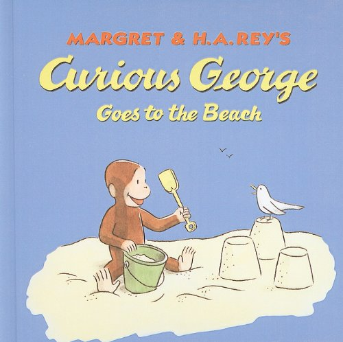 9780756917319: Curious George Goes to the Beach (Curious George 8x8)