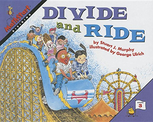 9780756918637: Divide & Ride (Mathstart: Level 3 (HarperCollins Paperback))