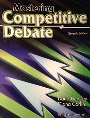 9780756925727: Mastering Competitive Debate