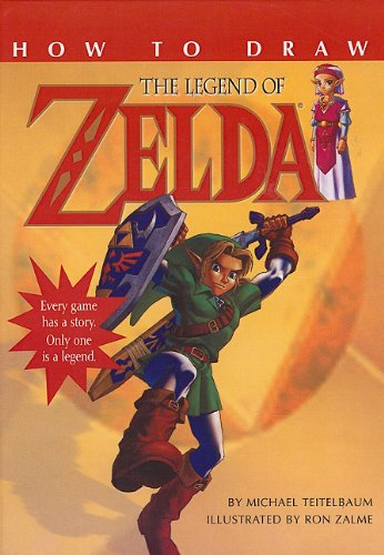 How to Draw the Legend of Zelda (0756925789) by Michael Teitelbaum
