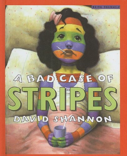 9780756931834: A Bad Case of Stripes (Scholastic Bookshelf)