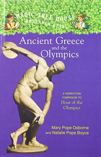 9780756932220: Ancient Greece and the Olympics (Magic Tree House Fact Tracker)