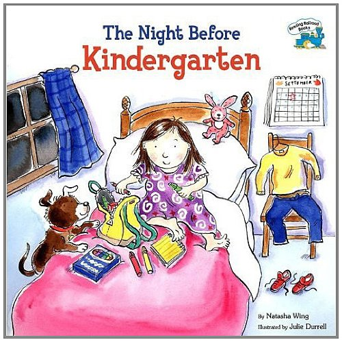 9780756933067: The Night Before Kindergarten (Reading Railroad Books)