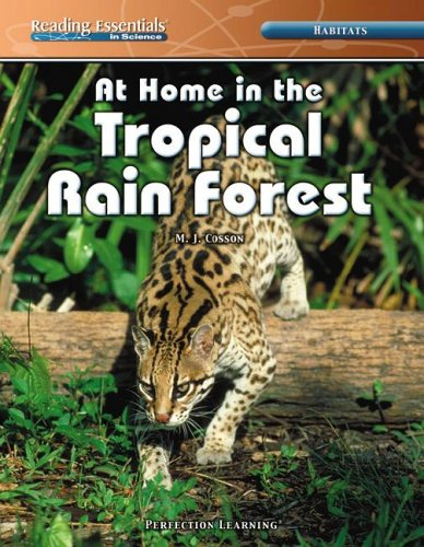 9780756946869: At Home in the Tropical Rain Forest (Reading Essentials in Science)
