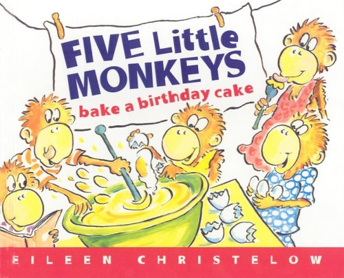 9780756950248: Five Little Monkeys Bake a Birthday Cake