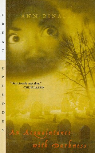 9780756950408: An Acquaintance with Darkness (Great Episodes (Pb))