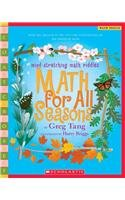 9780756951054: Math for All Seasons: Mind-Stretching Math Riddles (Scholastic Bookshelf)
