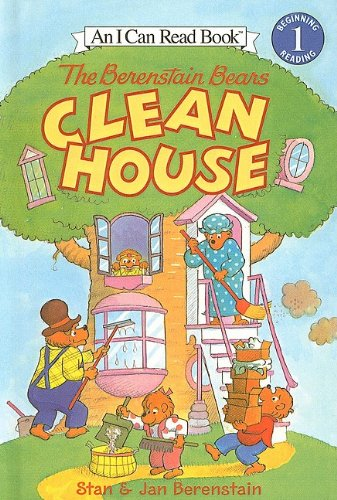 The Berenstain Bears Clean House (I Can Read Books: Level 1): Stan Berenstain