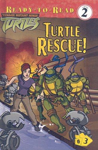 9780756953713: Turtle Rescue! (Teenage Mutant Ninja Turtles (Prebound Unnumbered))
