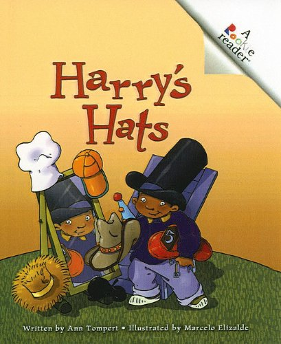 Harry's Hats (Rookie Readers: Level C (Pb)): Ann Tompert