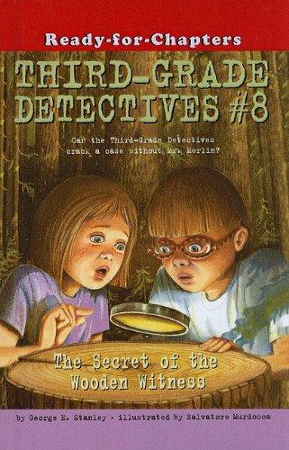 9780756955328: The Secret of the Wooden Witness (Third Grade Detectives (Prebound))