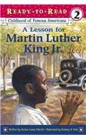 9780756956172: A Lesson for Martin Luther King Jr.