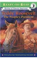 9780756956219: Teddy Roosevelt: The People's President (Stories of Famous Americans (Pb))