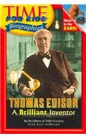 9780756957919: Thomas Edison: A Brilliant Inventor (Time for Kids Biographies (Pb))