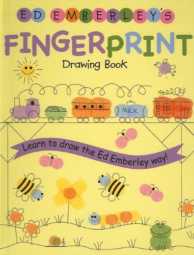 9780756958930: Ed Emberley's Fingerprint Drawing Book